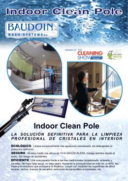 Folleto IndoorCleanPole2.cdr