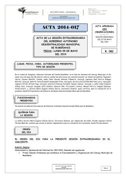 acta 017 - sesión extraordinaria 05 mayo 2014
