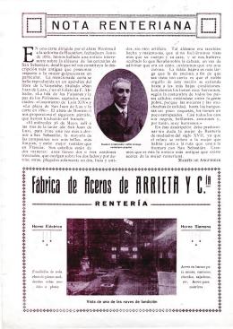 Nota renteriana, Martín de Anguiozar
