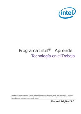 Programa Intel® Aprender