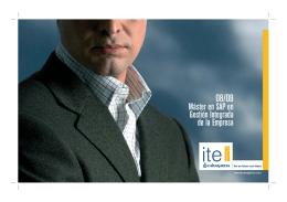 Folleto SAP.indd