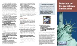 Derechos de los Jornaleros Inmigrantes