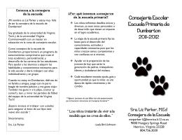 Dumbarton Brochure-en espanol
