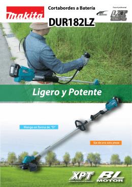 Ligero y Potente DUR182LZ
