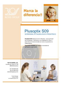 Folleto PlusOptix S09