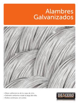 Alambres Galvanizados