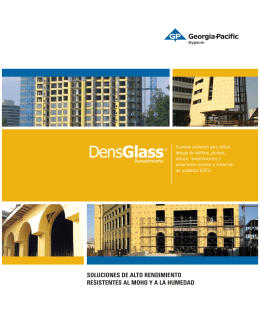DensGlass® Revestimiento (folleto descriptivo)