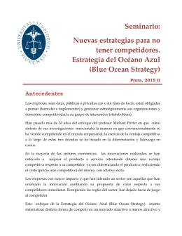 Documento informativo - Universidad de Piura