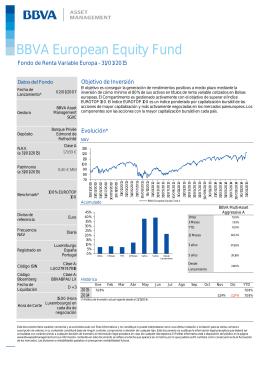 BBVA European Equity Fund