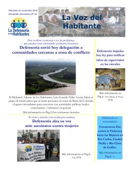 Publicación electrónica 44 - Defensoría de los Habitantes