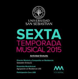 programa. - Universidad San Sebastián