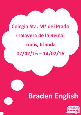 Braden English Spain SLU - Maristas