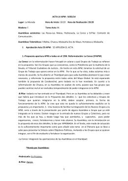 Descargar ACTA LX APM - Toma los barrios | Asamblea Popular de