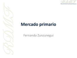 Mercado primario - Revista de Derecho del Mercado Financiero