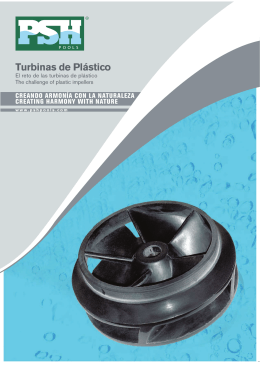 Folleto comercial Turbina Giant Plástico