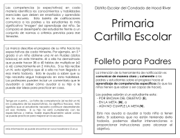 Primaria Cartilla Escolar