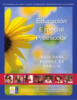 Educación Especial Preescolar