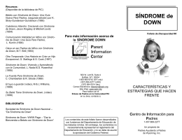 Sindrome de down - Parent Information Center