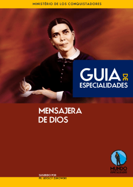 MENSAJERA DE DIOS - Mundo das Especialidades