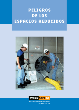 Hazards of Confined Places - Spanish
