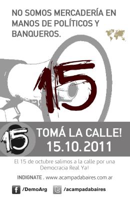 TOMÁ LA CALLE!