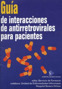Guía de interacciones de antirretrovirales para pacientes