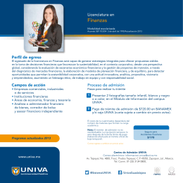 Archivo Descargable - Folleto Licenciatura en Finanzas