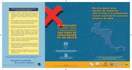 Folleto: Nuestro papel como agentes de migración ante la trata y la