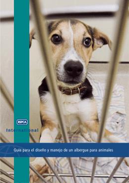 Guía para el diseño y manejo de un albergue para animales