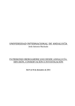 folleto patrimonio iberoamericano