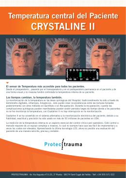Folleto Crystaline PROTECTRAUMA