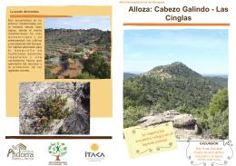 Folleto Ruta Alloza - Comarca Andorra Sierra de Arcos