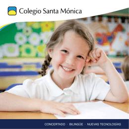 Folleto Colegio Santa Mónica