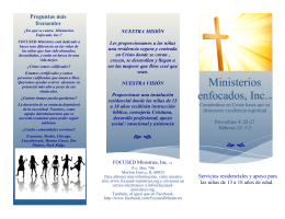 Ministerios enfocados, Inc.TM