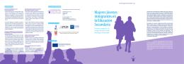 Mujeres jóvenes inmigrantes en la Educación Secundaria