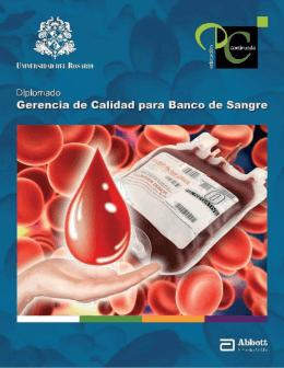Diplomado Gerencia de Calidad para Banco de Sangre