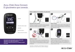 Accu-Chek Aviva Connect. El glucómetro que conecta.