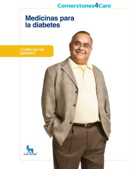 Medicinas para la diabetes