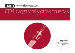 CD4, carga viral y otras pruebas