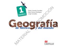 Libro de geografía bloque 1