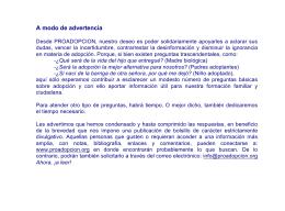 PDF Adjunto - Proadopción