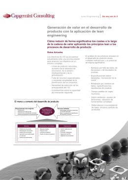Folleto Lean Engineering.vf - Capgemini Consulting España