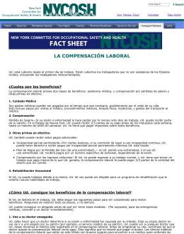 LA COMPENSACIÓN LABORAL