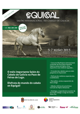 Programa Provisional Equigal 2015
