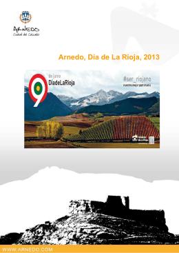2013 FOLLETO DiaRioja - Ayuntamiento de Arnedo