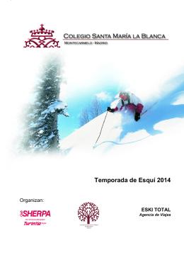Temporada de Esquí 2014
