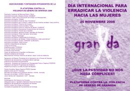 folleto 25 n - Ayuntamiento de Granada