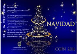 folleto navidadç - Ayuntamiento de Coín