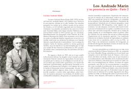 Los Andrade Marín