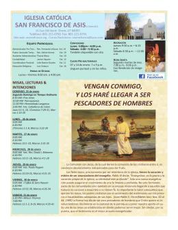 SAN FRANCISCO DE ASISLLC Series #221 VENGAN CONMIGO, Y